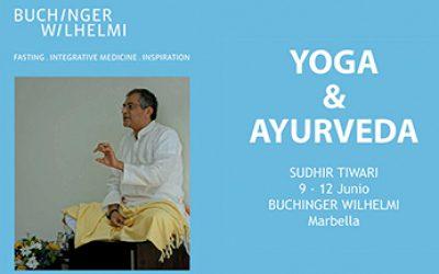 Taller yoga con Sudhir Tiwari en Buchinger
