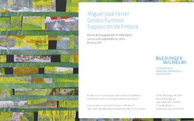 Exposición pintura Miguel Ferrer en Buchinger Marbella