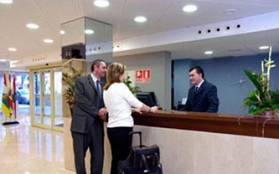 Recepción Hotel provincia Málaga