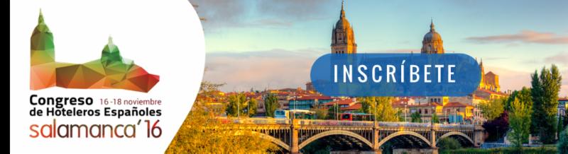 Congreso Hoteleros en Salamanca Noviembre 2016