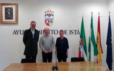 Acuerdo colaboración AEHCOS y municipio ISTAN