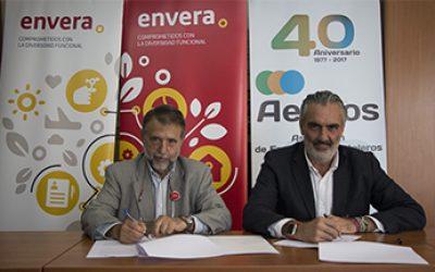 Acuerdo colaboración AEHCOS y Envera