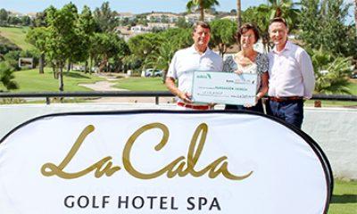 Entrega_recaudación a CUDECA por La Cala Resort