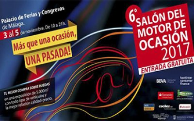 Salon del Motor de Ocasion en el Palacio de Feria y Congresos de Malaga 2017