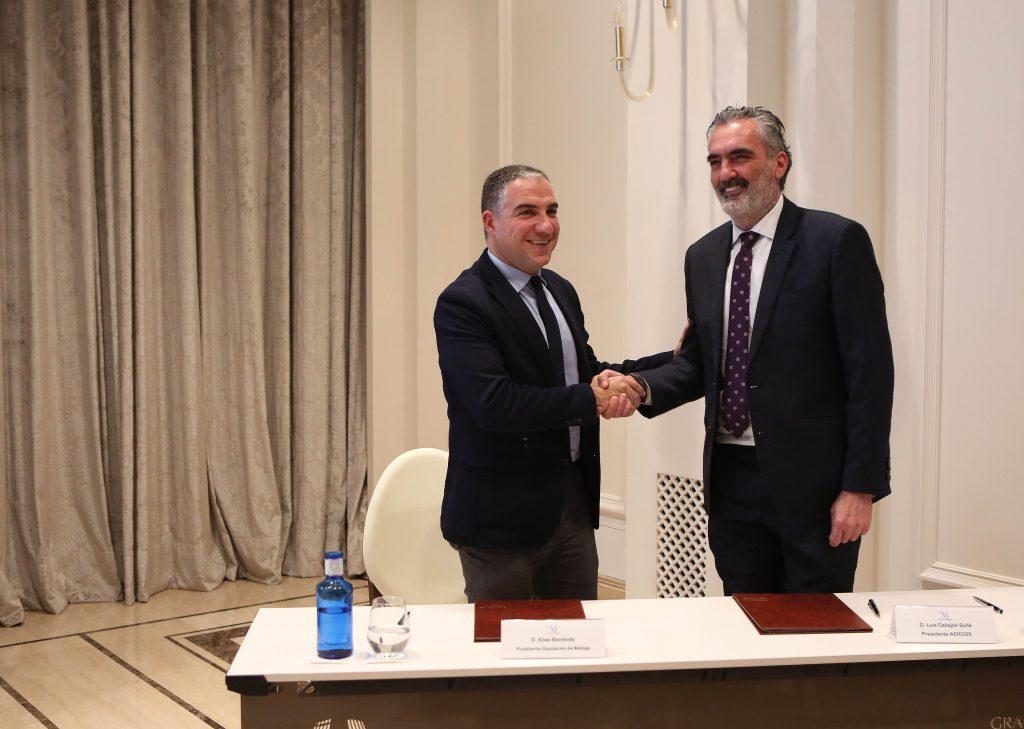 Acuerdo de colaboración entre AEHCOS y Sabor a Málaga