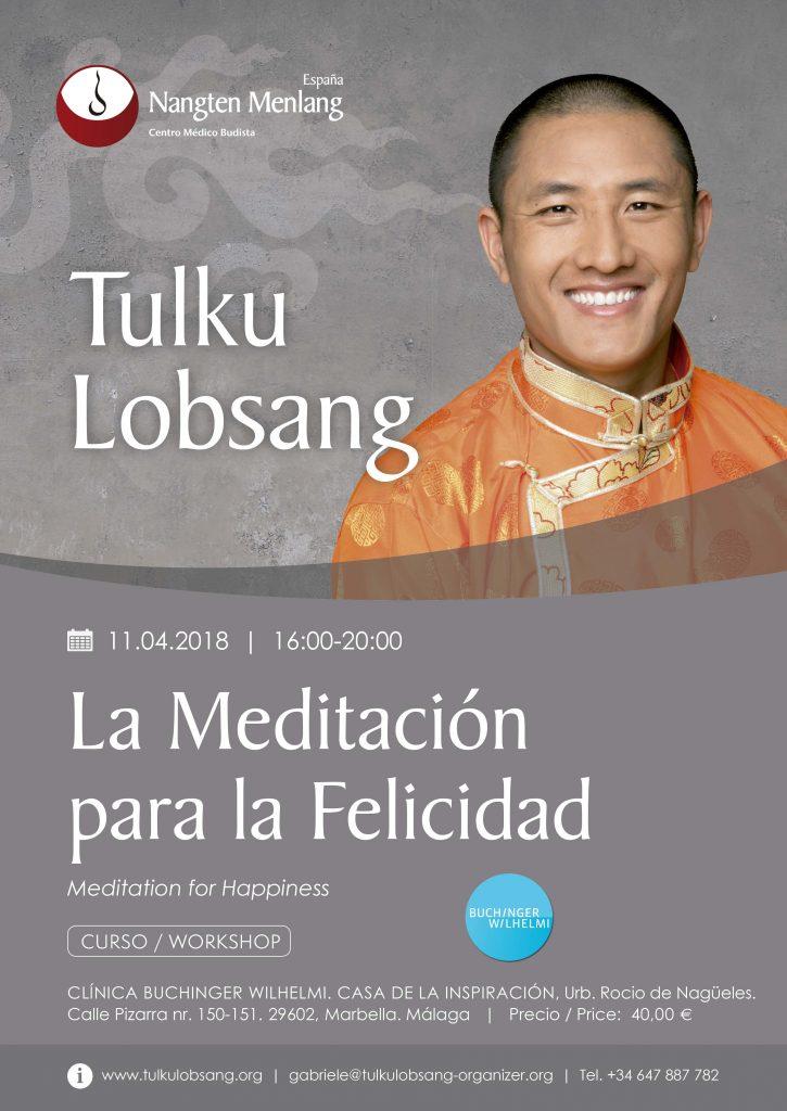 Curso con el Lama Tibetano Tulku Lobsang