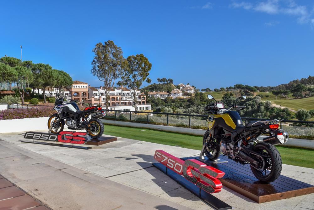 La nueva moto BMW se presenta en La Cala Resort