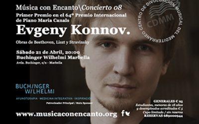 Concierto Evgeny Konnov en Buchinger Wilhelmi Marbella