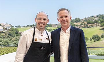 Presentacion de nuevo chef y director en La Cala Resort