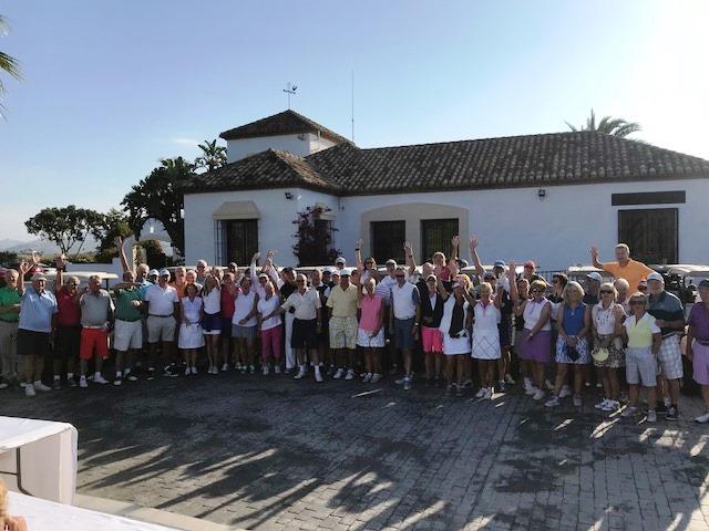 participantes XXV Torneo Cudeca en La Cala Resort