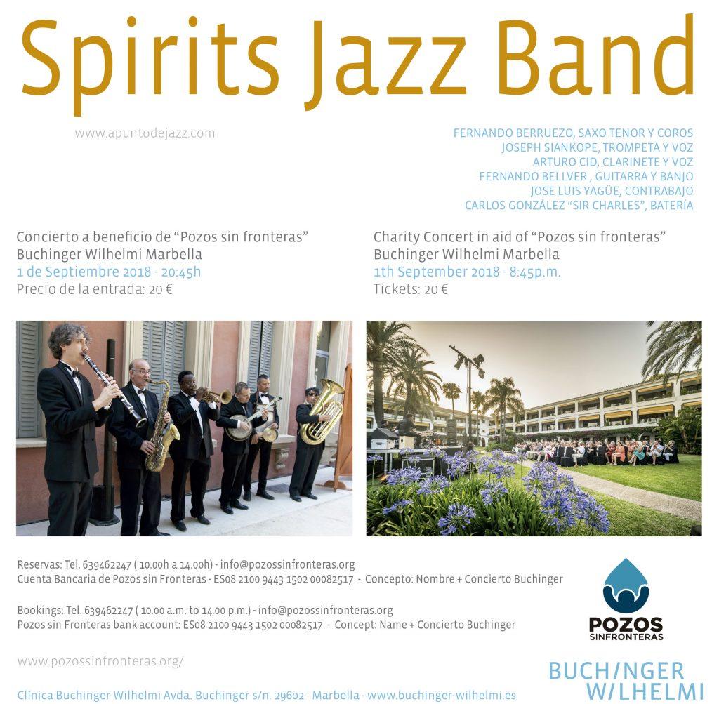 Concierto Spirits Jazz