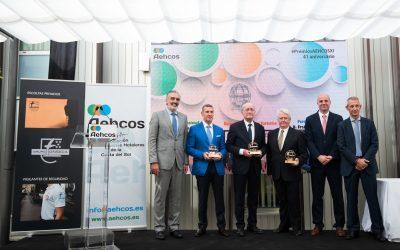 Galardonados y Presidencia XI Premios AEHCOS 2018