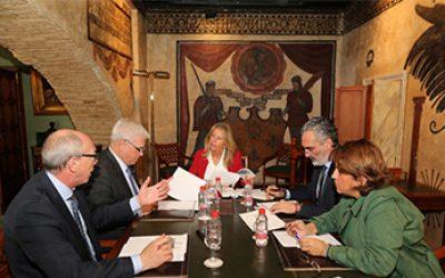 Reunion AEHCOS y Ayuntamiento Marbella