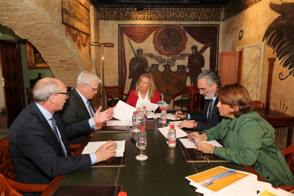 Reunion con ayuntamiento Marbella dic18