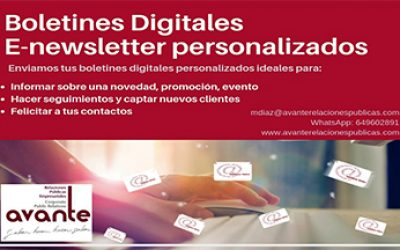 Newsletters boletines digitales para impulsar las ventas