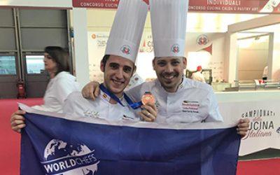 Daniel Garcia Peinado de La Cala Resort en la Global Chefs Challenge
