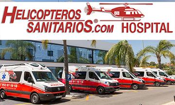 Rueda prensa Helicopteros Sanitarios Hospital